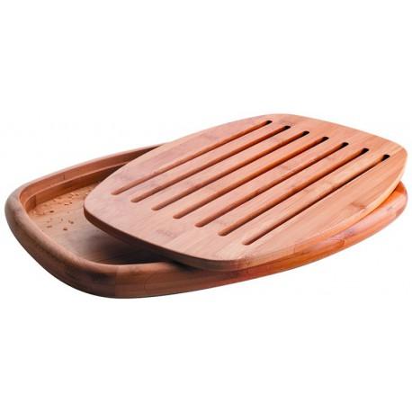 Tabla de corte pan oval lacor for Tablas de corte cocina