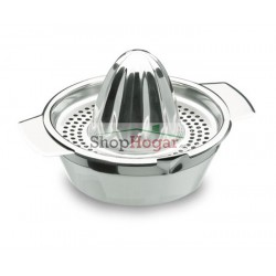 Exprimidor manual Inox de Lacor.