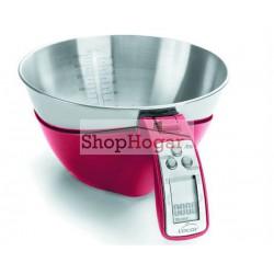 Báscula cocina digital con bol extraíble Lacor.