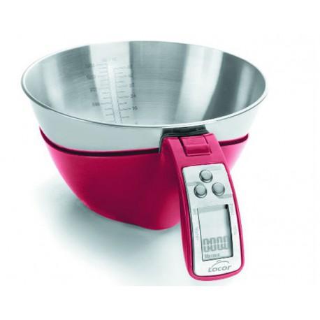 B scula cocina digital con bol extra ble lacor for Bascula cocina profesional
