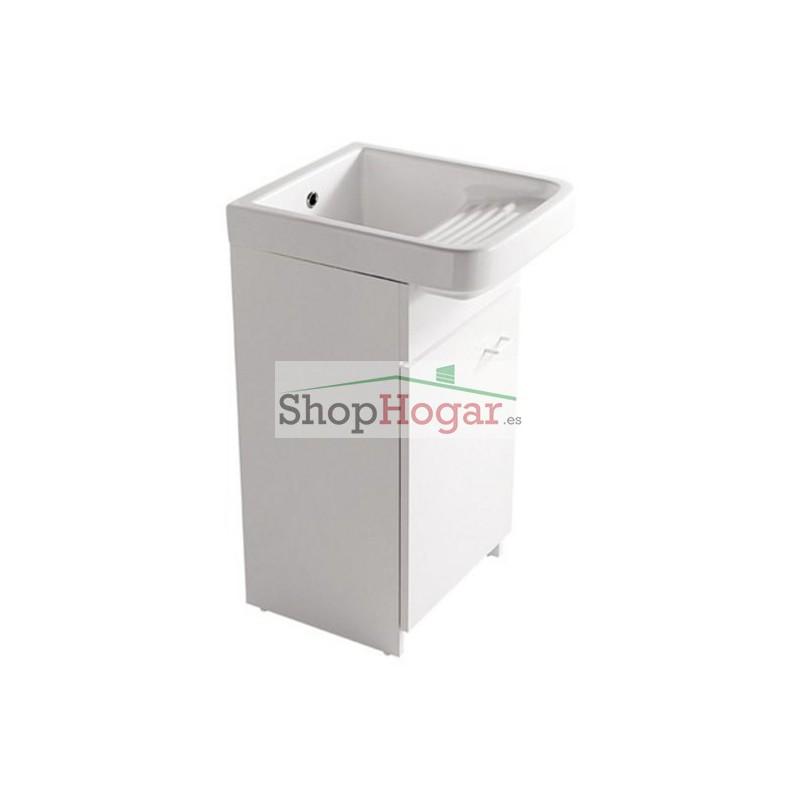 Mueble para lavadero porcelana 45 x 53 cm minerva galassia for Lavadero porcelana