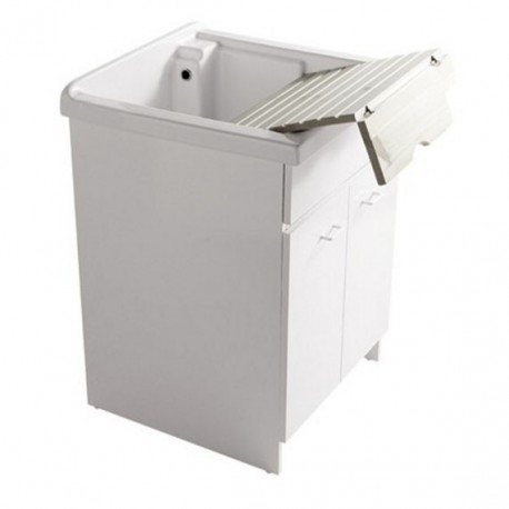 Mueble para lavadero porcelana 62 x 60 cm athena galassia - Muebles para lavaderos ...
