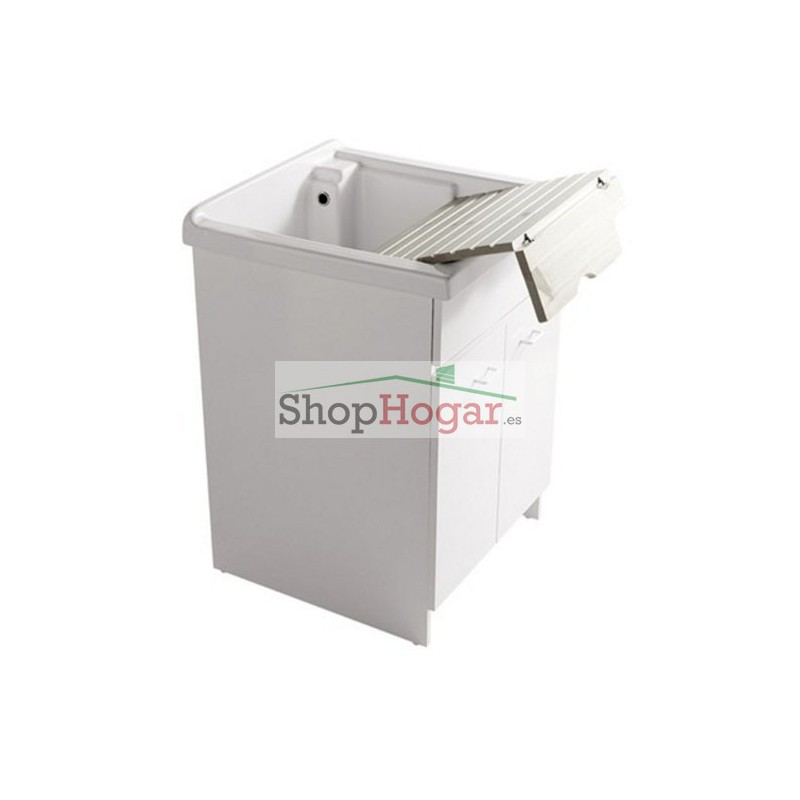 Mueble para lavadero porcelana 62 x 60 cm athena galassia for Lavadero porcelana