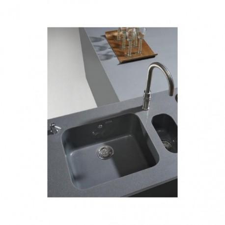 Fregadero sintético bajo encimera o sobre encimera 54 x 44,5 Gandia Poalgi.