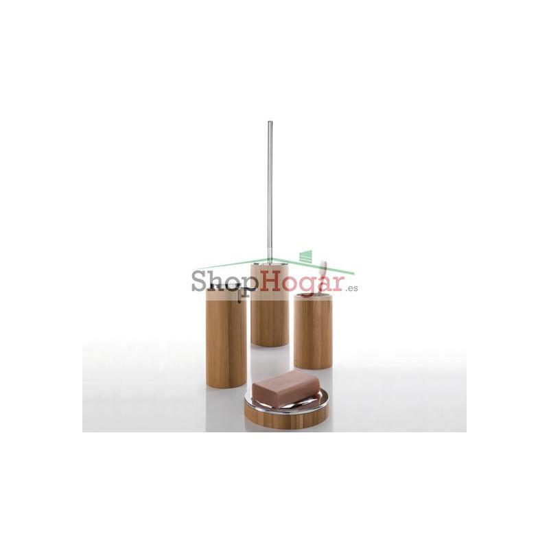 Dosificador jab n bamb gedy altea for Accesorios bano bambu