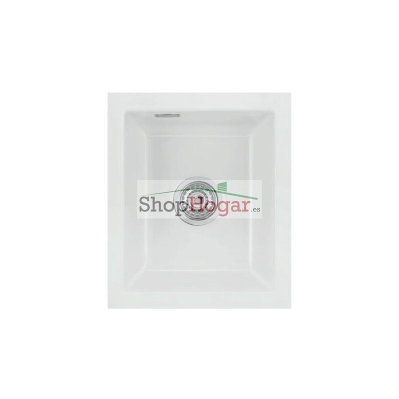 fregadero fibra bajo encimera x cm rubato luisina
