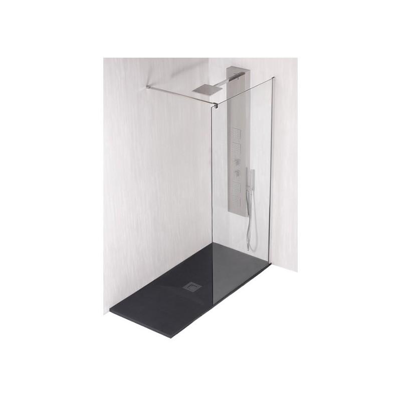 Mampara fija de ducha talos panel varobath - Mampara fija ducha ...
