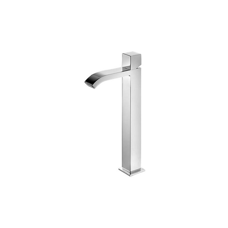 Grifo monomando lavabo cascada mando cuadrado con for Lavabo cuadrado