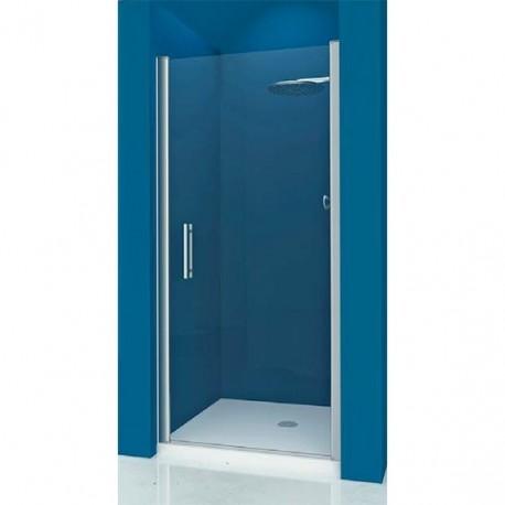 Mampara ducha frontal 1 abatible transparente modelo 72 - Mamparas abatibles para ducha ...