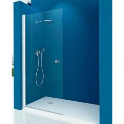Mampara ducha 1 Puerta Abatible TRANSPARENTE Modelo 73 Acquaban.