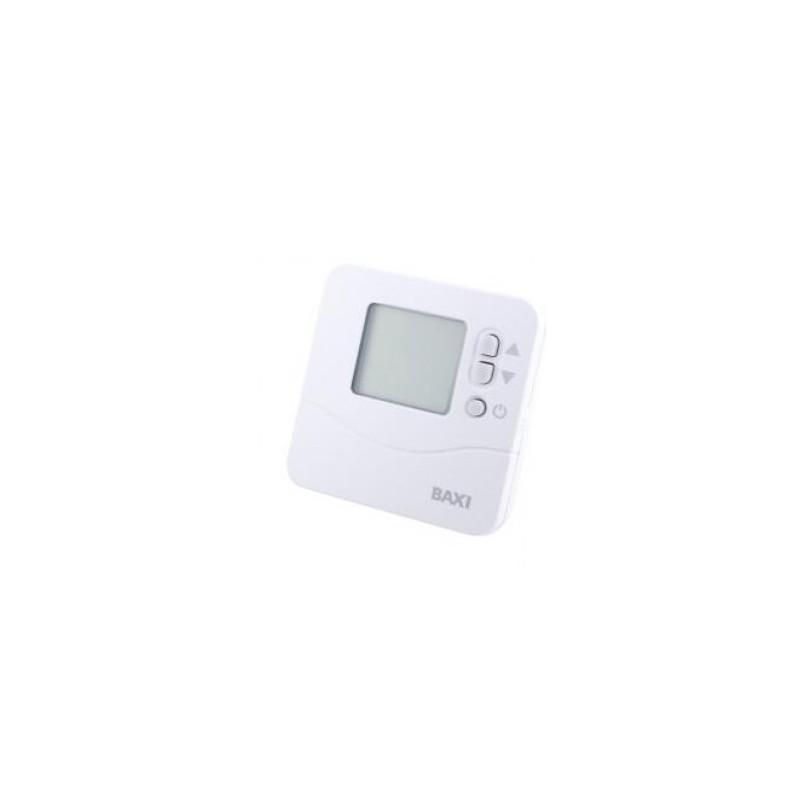 Cronotermostato ambiente con cable digital td 1200 baxiroca for Baxi termostato ambiente