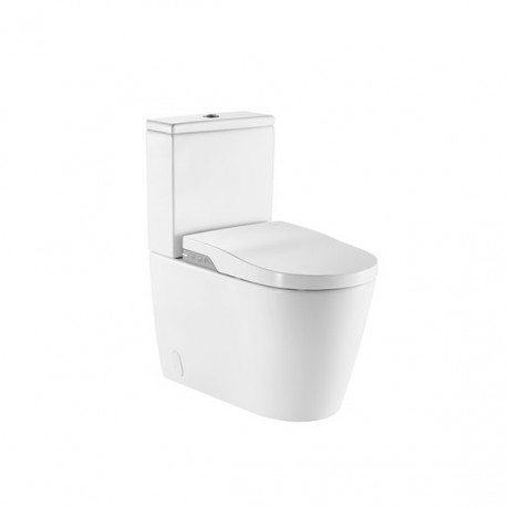 Inodoro In-Wash® - Smart toilet Roca adosado a pared.