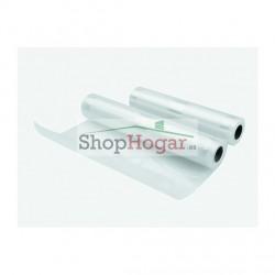 Pack 2 Bobinas Plástico Conservación al Vacío 22+28 cm - 5M Lacor.