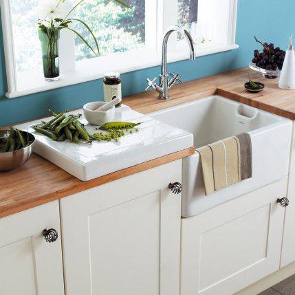 Fregaderos de porcelana tipo belfast - Fregaderos de cocina blanco ...