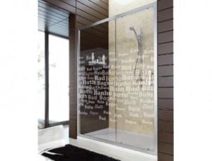mampara ducha para reformar el baño sin obras